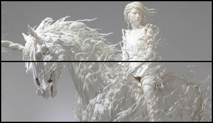 Odani Motohiko – Escultor futurista