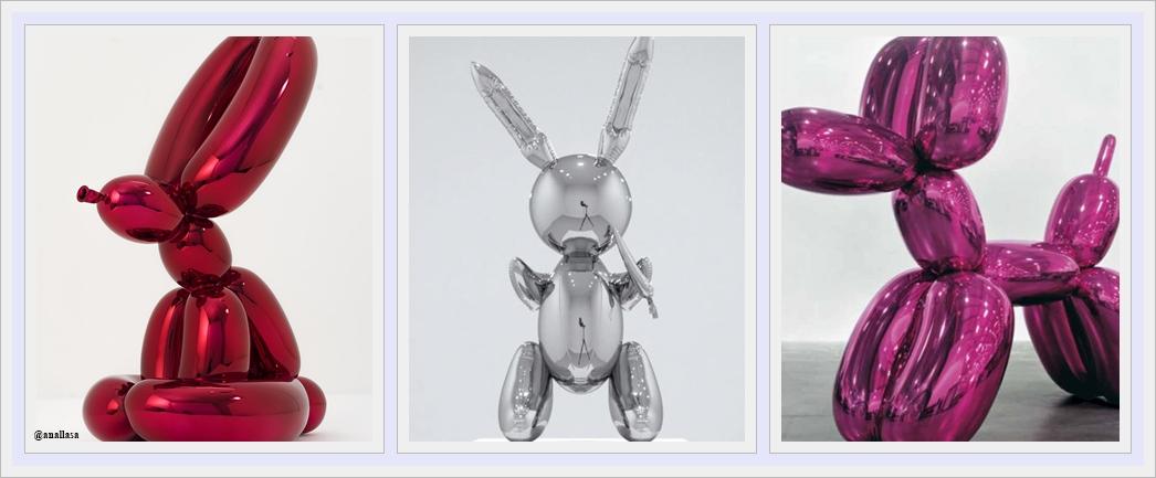 """Jeff Koons"" – Artista contemporáneo polémico."